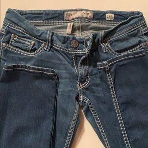 BKE Stella skinny jeans.